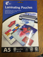 Laminating pouches A5