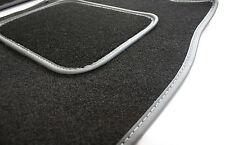 Ajuste Perfecto Auto Negro Mate Para Honda Accord 7 Gen 03-07 - Gris Ribete En Piel