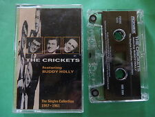 rare buddy holly the crickets the singles collection cassette tape australian