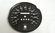 85-89 CAMARO Z-28 RS SPEEDOMETER 115 MPH FACE PLATE ONLY