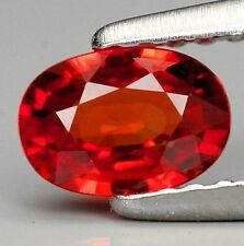 Large Unheated 28.73ct Padparadscha Sapphire Brillaint Orange AAA+ Gem