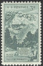 USA 1952 Mt Rushmore Memorial/Art/Architecture/Presidents 1v (n43306)