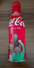 Coca Cola Aluflasche - Fifa Euro 2016 France Belgien 2/4 - Alu Flasche Bottle