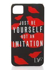 """DIANE VON FURSTENBERG DVF  """"Just Be Yourself """" iPhone 4/4s Case new"""