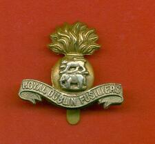 ROYAL DUBLIN FUSILIERS.BI-METAL ARMY CAP BADGE