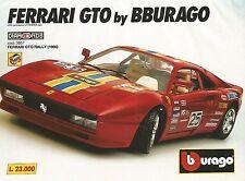 X1844 Ferrari GTO Rally - Bburago - Pubblicità del 1994 - Vintage advertising