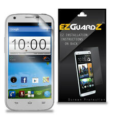 2X EZguardz LCD Screen Protector Cover HD 2X For ZTE Blade Q Maxi (Ultra Clear)