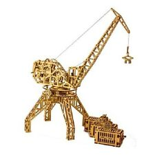 WOOD TRICK Tower Crane Mechanical Model 3D Wooden Toy Puzzles Constructor