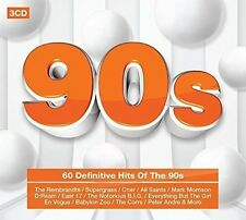 90'S - 60 DEFINITIVE HITS OF THE 90'S 3CD SET (March 25th 2016)