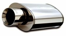 "MagnaFlow UNIVERSAL Stainless Steel Muffler 14832 2.25"" Inlet 4"" Outlet"