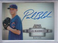 PAUL BLACKBURN 2012 BOWMAN STERLING PROSPECT AUTO REFRACTOR