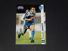 FRANCK JURIETTI SEC BASTIA SCB FURIANI CORSICA FOOTBALL CARD DS 1998-1999 PANINI