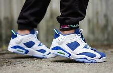 Nike Air Jordan VI 6 Retro Low Seahawks Ghost Insignia UK 12 US 13 4 11 Carmine