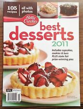 2011 Betty Crocker Best Desserts 105 Recipes + Tips 10 Ways to Decorate Cupcakes