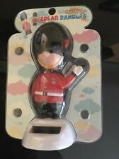 Solar Powered Dancing Soldier. British London England  New