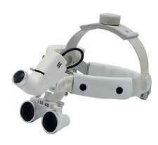 420MM 3.5X Headband Medical Dental Loupe With 5W LED Medical Headlight