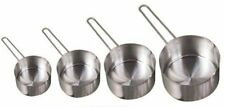 American Metalcraft MCW4 4-Pack Stainless Steel Measuring Cup Set with Wire L...