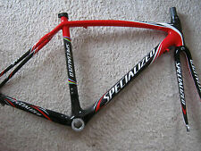SPECIALIZED TARMAC FULL-CARBON FRAME & FORKS, SIZE 52  VGC