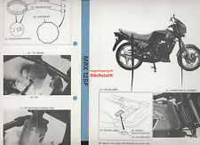 Genuine Honda MBX125F (1984-on) Factory Work-Shop Manual MBX 125 F JC10 ATAC