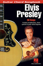 ELVIS PRESLEY GUITAR CHORD SONGBOOK 59 SONGS NEW