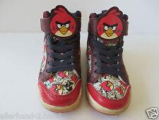 ANGRY BIRDS # coole SNEAKERS Gr. 25 rot Mädchen Schuhe Halbschuhe Boots  ANSEHEN