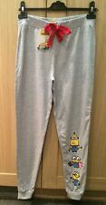 DESPICABLE ME MINION GREY PYJAMA BOTTOMS Size  6 - 8 Small