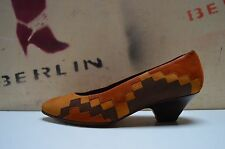 Donna Carolina Damen Pumps 90er TRUE VINTAGE 90s CHIMAYO optik brauntöne
