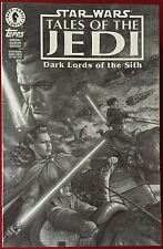 Star Wars: Dark Lords Of The Sith #1 - B&W Variant Preview - Comic Book - Topps