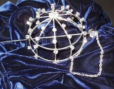 NEW Rhinestone buncover Ballet Dance great gift Bling for the Bun hairacc bridal