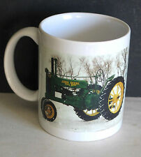 John Deere Tractor Mug Cup Farm Equipment Show 2000 FARGO ND FREE SH