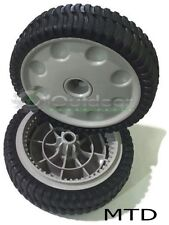 MTD Set of 2 Genuine Front Drive Wheels 734-04018C Self-Propelled Mower