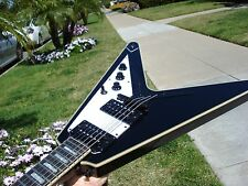 Epiphone Flying V Custom Black with gigbag