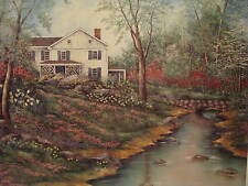 COUNTRY HOME BY SHERRY MASTERS 20 X 26  ART PRINT/POSTER UNFRAMED