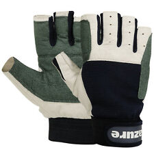 AMARA REAL SAILING GLOVES YACHTING GLOVE ROPE CHANDLER WATERSPORTS CUT FINGER XS