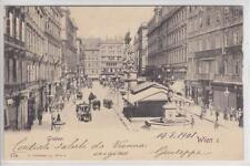 AK Wien I, Graben, Cafe, 1901
