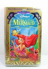 THE LITTLE MERMAID VHS Walt Disney Masterpiece SPECIAL EDITION Clamshell ARIEL