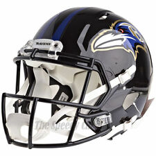 BALTIMORE RAVENS RIDDELL NFL FULL SIZE AUTHENTIC SPEED FOOTBALL HELMET