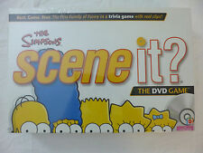 NISB THE SIMPSONS SCENE IT? DVD BOARD GAME FROM MATTEL; NEW & FACTORY SEALED