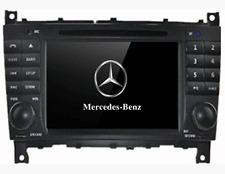 Navigatore Gps touchscreen, mercedes c-class