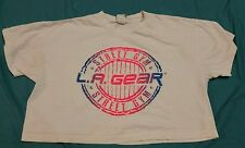 Vintage LA GEAR 90's old school gym bodybuilder half T shirt M/ L surf skate