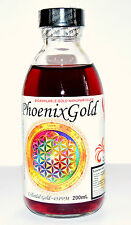 Colloidal Gold ~45ppm 200 ml nano ormus ormes Ruby red memory health