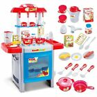 Complete Toy Kitchen Oven Cooking Baking Childrens Electronic Role Play Set 8897