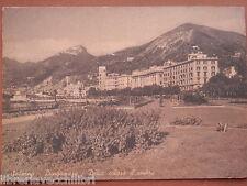 GIARDINETTI LUNGOMARE PALAZZO VITTORIA Vecchia fotografia di Salerno cartolina