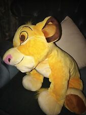 *RARE* HUGE XL Lion King Simba Disney Store Big Plush