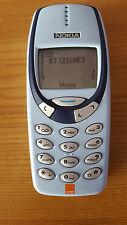 Nokia 3310-Azul Pálido (Desbloqueado) Teléfono Móvil Clásico De Colección Retro
