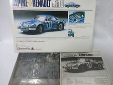 213 Union Alpine Renault A110 Model Kit 1/24 Model Kit