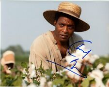 CHIWETEL EJIOFOR signed autographed 12 YEARS A SLAVE SOLOMON NORTHUP photo