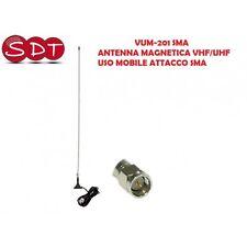 VUM-201 SMA ANTENNA MAGNETICA VHF/UHF USO MOBILE ATTACCO SMA