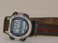 VINTAGE Working CASIO Illuminator Fish in Time 100M Water Resistant Wrist Watch