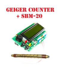 Arduino IDE compatible Geiger counter dosimeter /w LCD shield